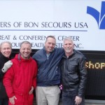 L to R:  Bob Waterman, Dan Barutta, Allen Rose and Tom Yates