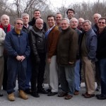 Dignity/Washington Board Retreat, February 15-17, 2013, Bon Secours Retreat and Conference Center, Marriottsville, Maryland (L to R: Henry Huot, Tom Little, Maurice LaPierre, Mike Marinelli, Tom Yates, Kenneth Dowling, Tom Bower, Alexander Martone, Ray Panas, Allen Rose, Jonathan Noriega, Mark Clark, Larry Ranly, David Vespa, Bob Miailovich, Mark Hibschman, Bob Waterman, and Dan Barutta)