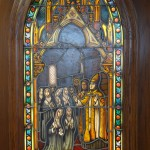 Stained Glass Window of the Founding of the Order of the Sisters of Bon Secours, Paris, 1824