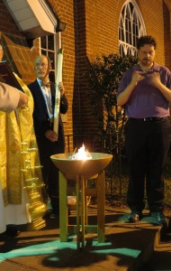 Easter Vigil Fire