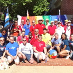 Members of Dignity/Washington are enthused and ready to march at the 2014 Capital Pride Parade.