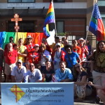 Dignity/Washington's 2014 Capital Pride marchers