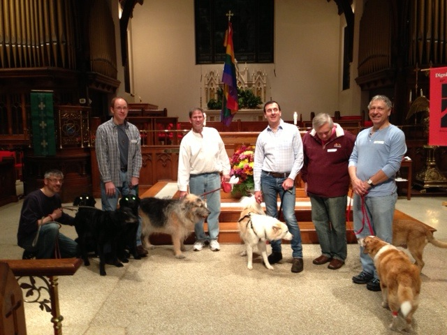 Blessing of the animals at Dignity/Washington