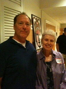 Ron Boyd and Sr. Jeannine at Dignity NoVA