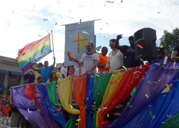 Dignity Rocks 2015 Capital Pride Parade
