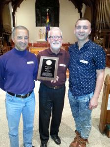 Henry Huot Receives President's Award