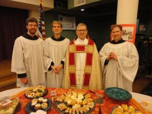 St Joseph's Day Dinner liturgy leaders