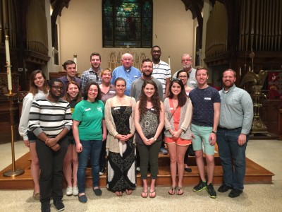 D/W young adults with Catholic University's CUAllies and members of the D/W Catholic University staff.