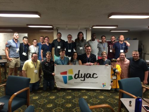 DYAC 2016 retreat group