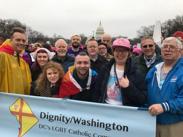 Dignity/Washington at Women's March